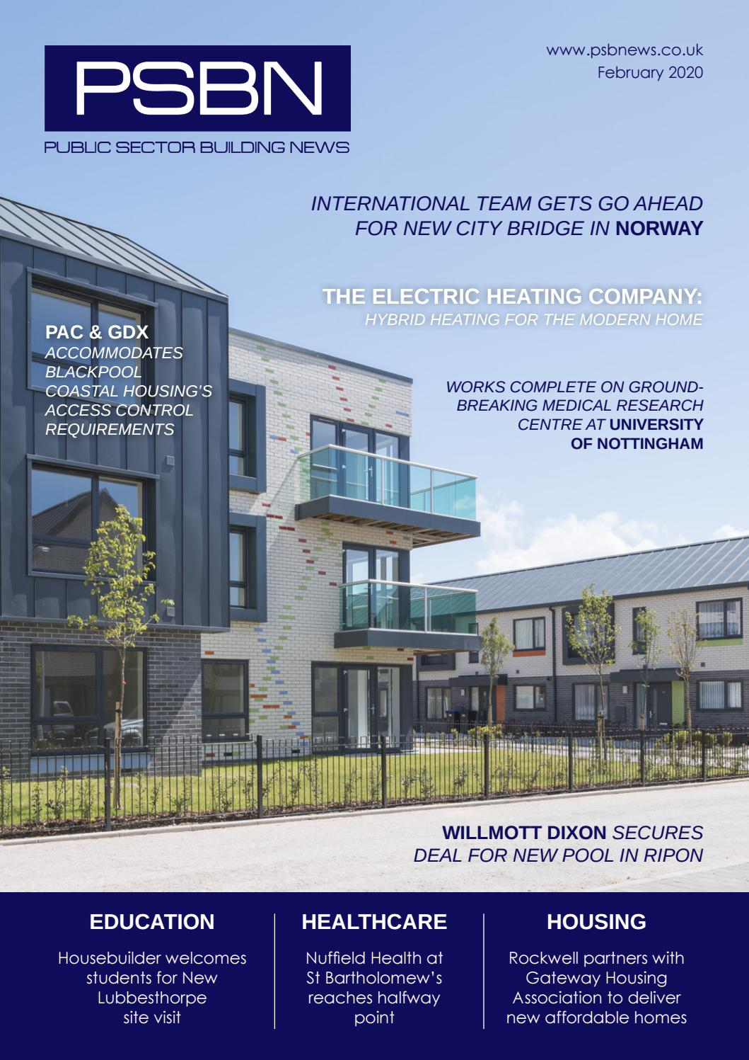 Public Sector Building News February 2020 By Lapthorn Media Issuu