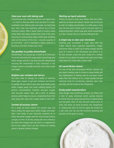 Page 19 of Green cleaning tips for a healthy home