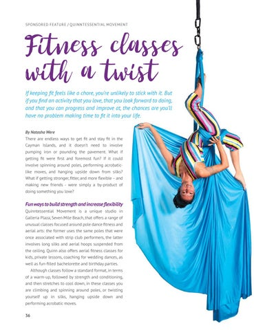 Page 38 of Fitness classes with a twist