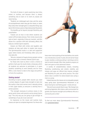 Page 39 of Fitness classes with a twist
