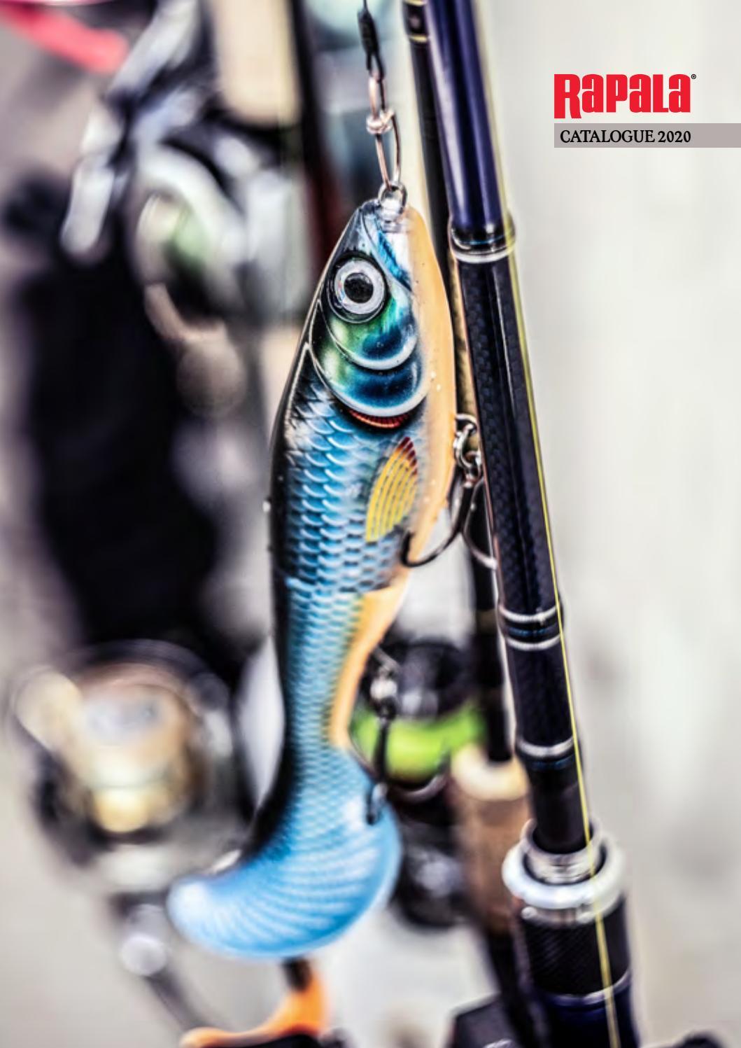 flottant coloris Silver saumons Rapala un leurre flottant eau douce id/éal pour les truites perches 13cm // 46g sandres et brochets X-Rap Jointed Shad