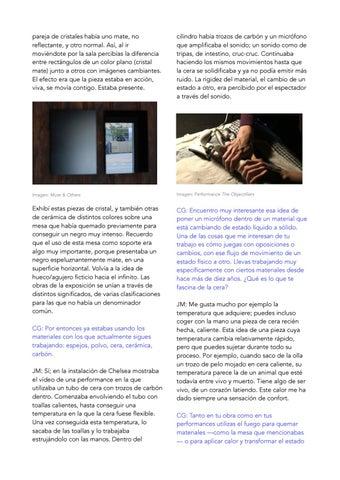 Page 2 of CONVERSACIÓN ENTRE CAROLINA GRAU Y JULIA MARISCAL, 18 julio 2019