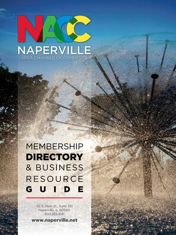 Naperville IL Chamber and Community Guide Town Square
