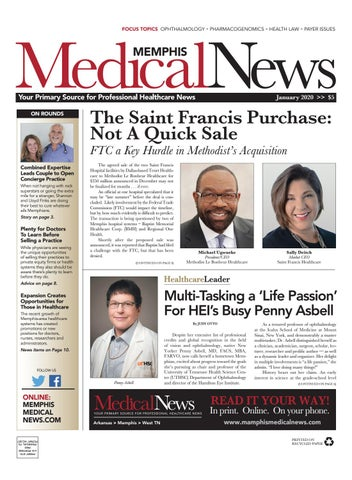 Memphis Medical News January 2020 by Medical News issuu