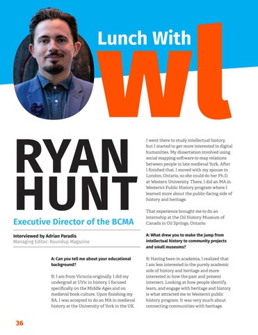 Page 38 of Lunch with owl: Ryan Hunt