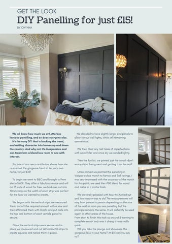 Page 27 of DIY Panelling for just £15!