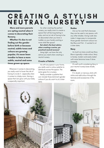 Page 29 of Creating a neutral Nursery