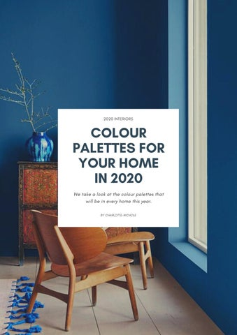 Page 7 of Colour Palettes for your home in 2020