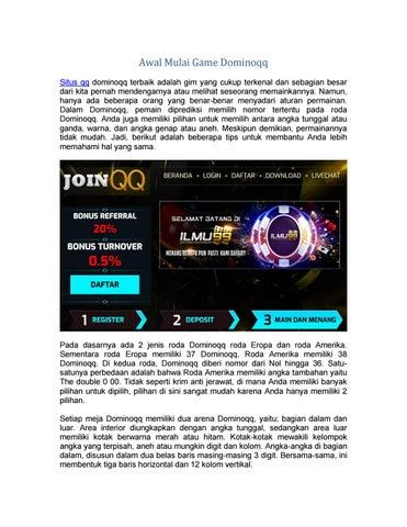 Situs Qq Online Dominoqq Terbaik By Donita Alita Issuu