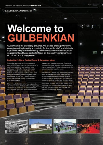 Page 20 of Welcome to Gulbenkian
