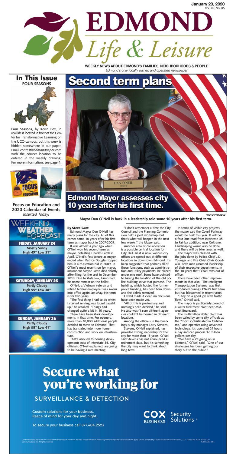 Edmond Life Leisure January 23 2020 By Edmond Life And Leisure Issuu