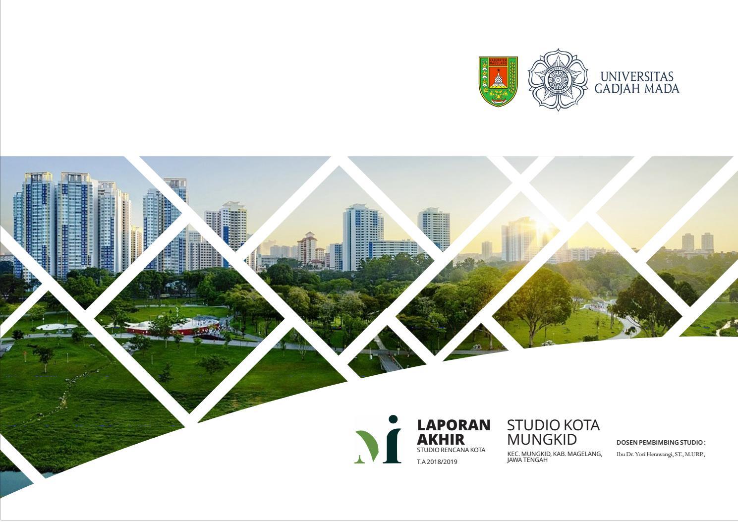 Laporan Akhir Rencana Studio Kota Mungkid By Naufal Habib Issuu