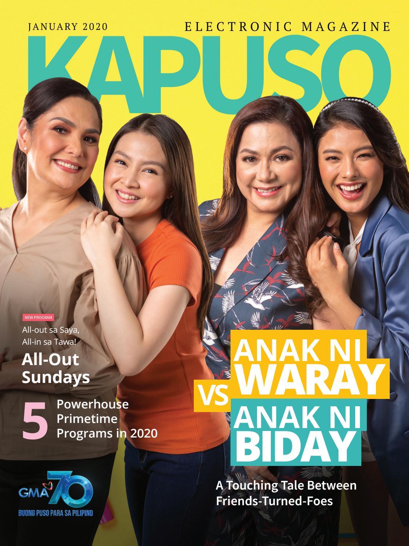 Kapuso Gma 7 Christmas 2020 January 2020 Kapuso Magazine by GMA New Media   issuu