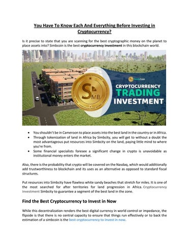 invest change into cryptocurrency