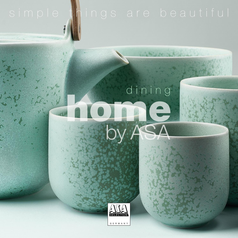 Asa Selection vase//pot Ease Anthracite//Gris 18 cm H.//9 cm Ø