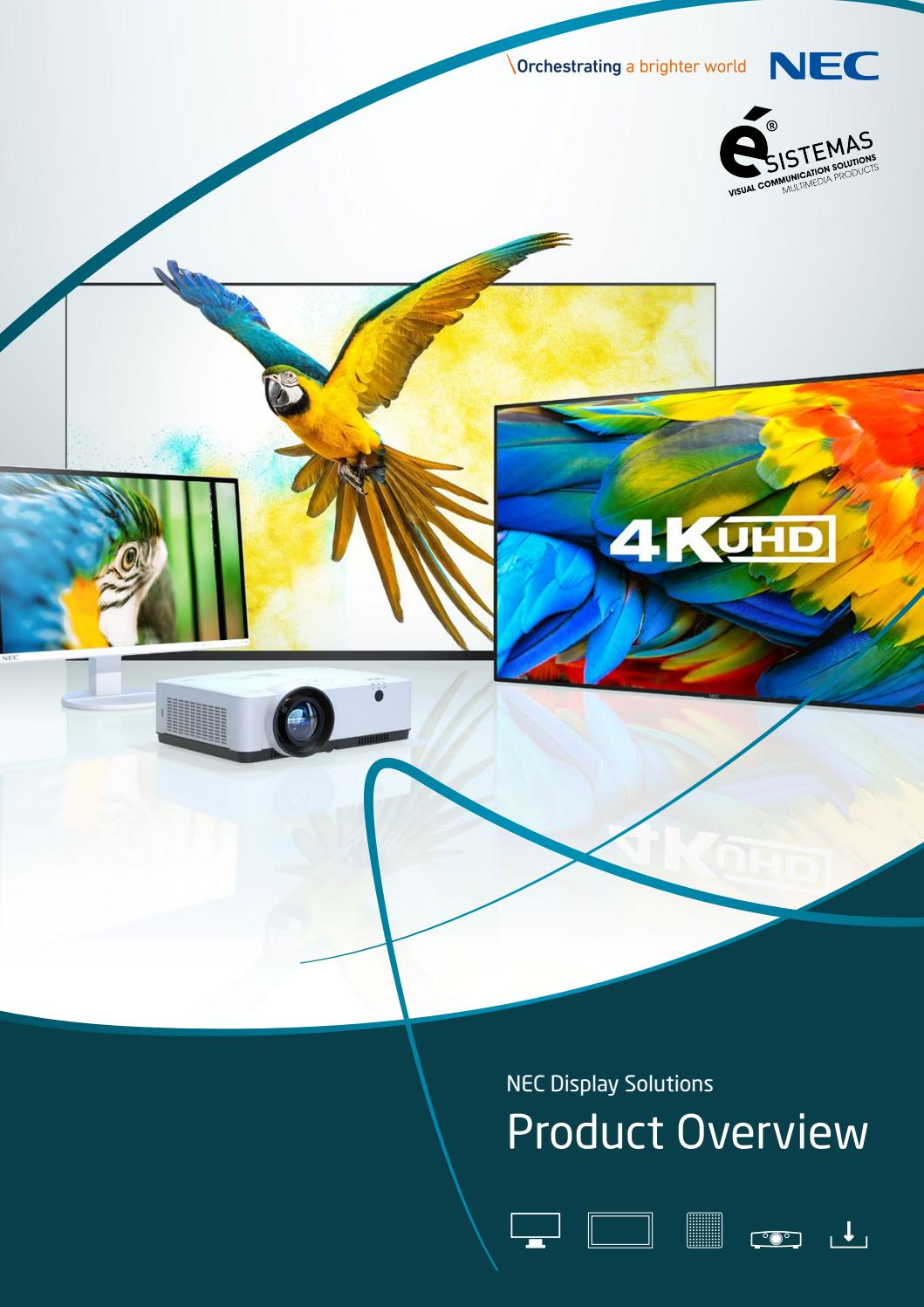 22 Nec Display Solutions by Ésistemas Portugal   issuu