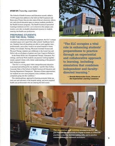 Page 11 of A New Home for Health Care