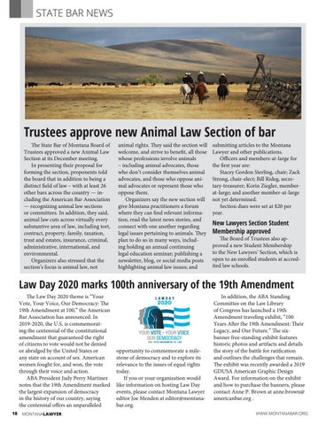 Page 18 of STATE BAR NEWS