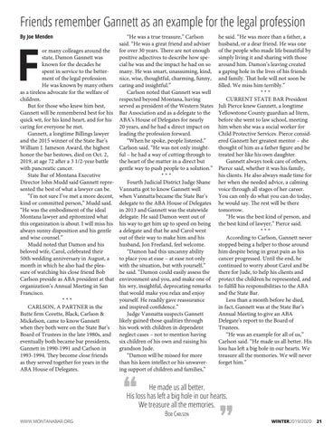 Page 21 of 'HE WAS A TRUE TREASURE' DAMON GANNETT 1947 — 2019