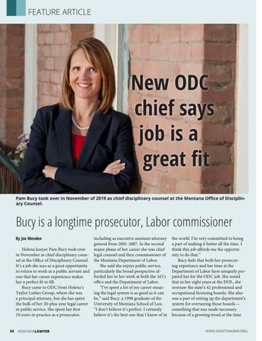 Page 24 of New ODC chief says job is a great fit