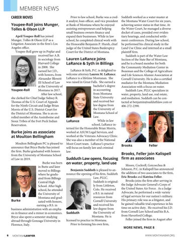 Page 6 of MEMBER NEWS