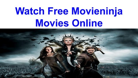 Watch Free Movieninja Movies And Tv Shows Free By Movieninjaonline Issuu