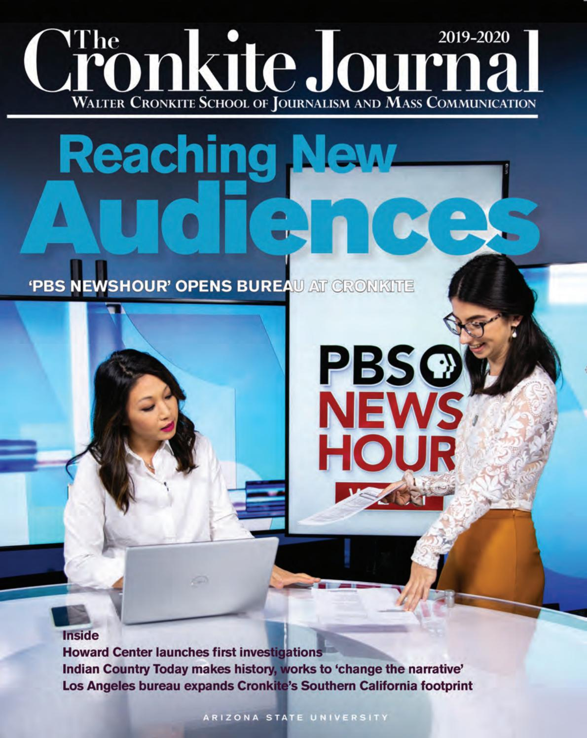 Cronkite Journal 2019 2020 By Walter Cronkite School Of Journalism And Mass Communication Issuu