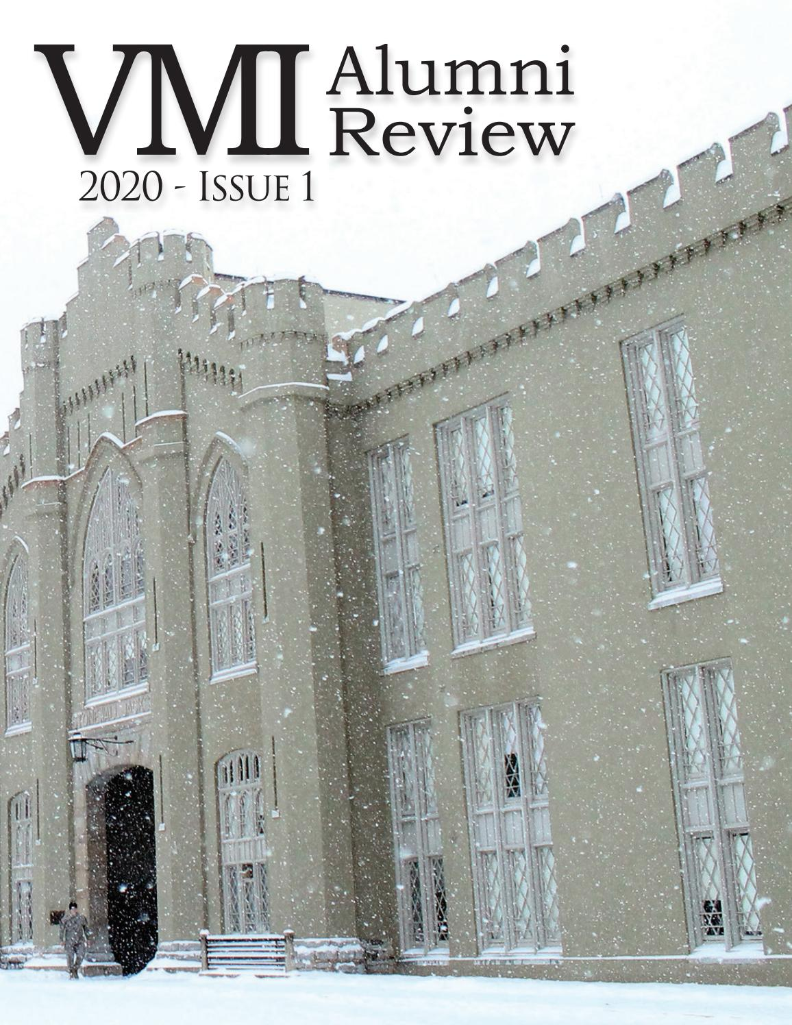 Vmi Alumni Review 2020 Issue 1 By Vmi Alumni Agencies Issuu