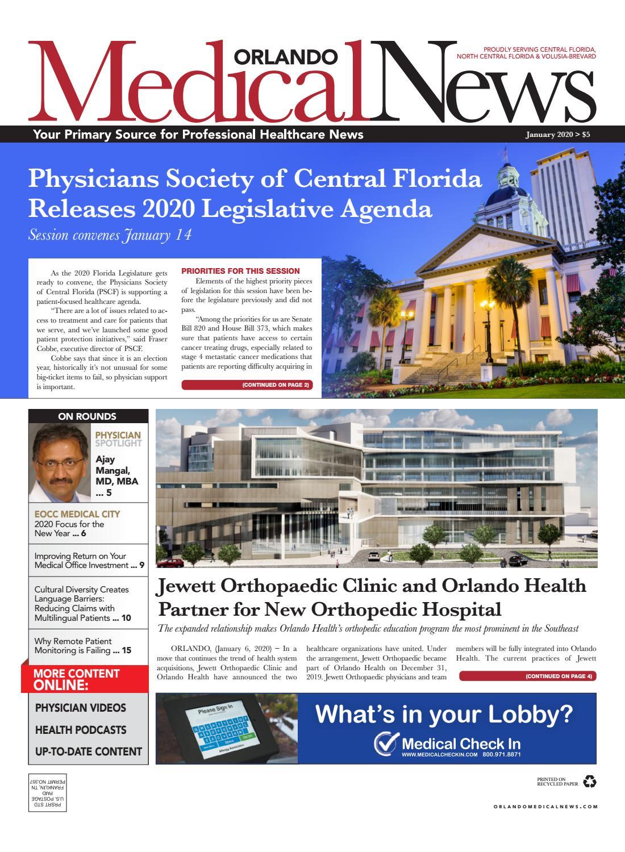 Design Bank 2 Zits Lugo.Orlando Medical News January 2020 By Orlando Medical News Issuu