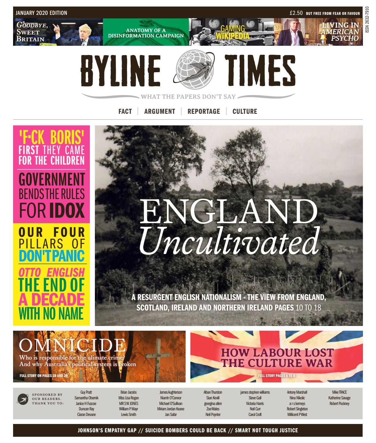 Byline Times by bylinetimes - issuu