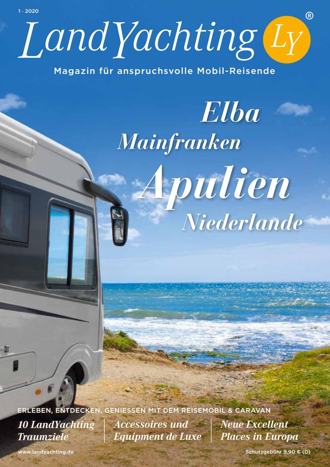 LandYachting Magazin 10/10 Die schönsten Reiseziele für Caravan