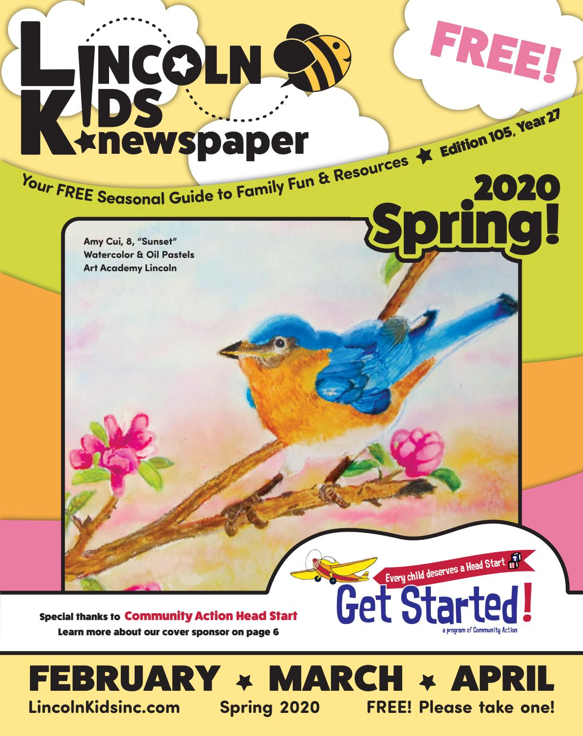 small wonders wooden letter wall deor letter k baby.htm lincoln kids  newspaper     spring 2020     february  march  april by  lincoln kids  newspaper     spring 2020
