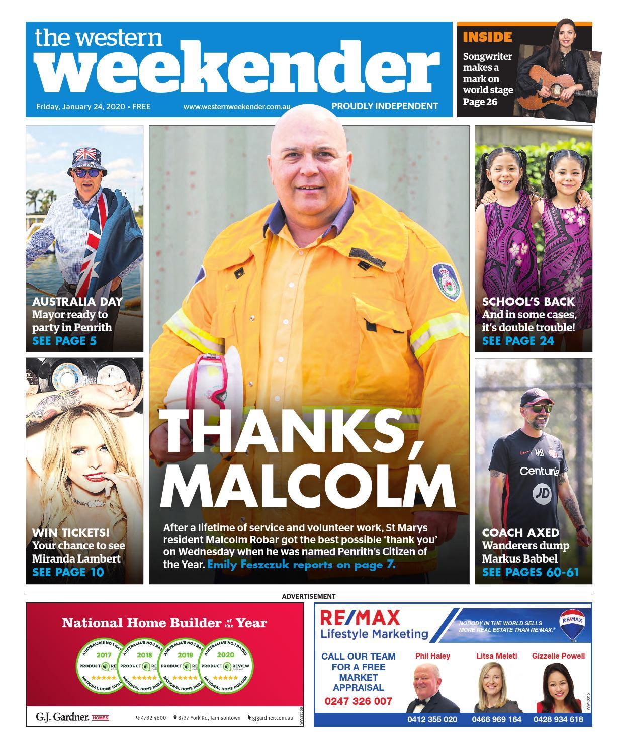 The Western Weekender January 24 2020 By Western Sydney Publishing Group Issuu