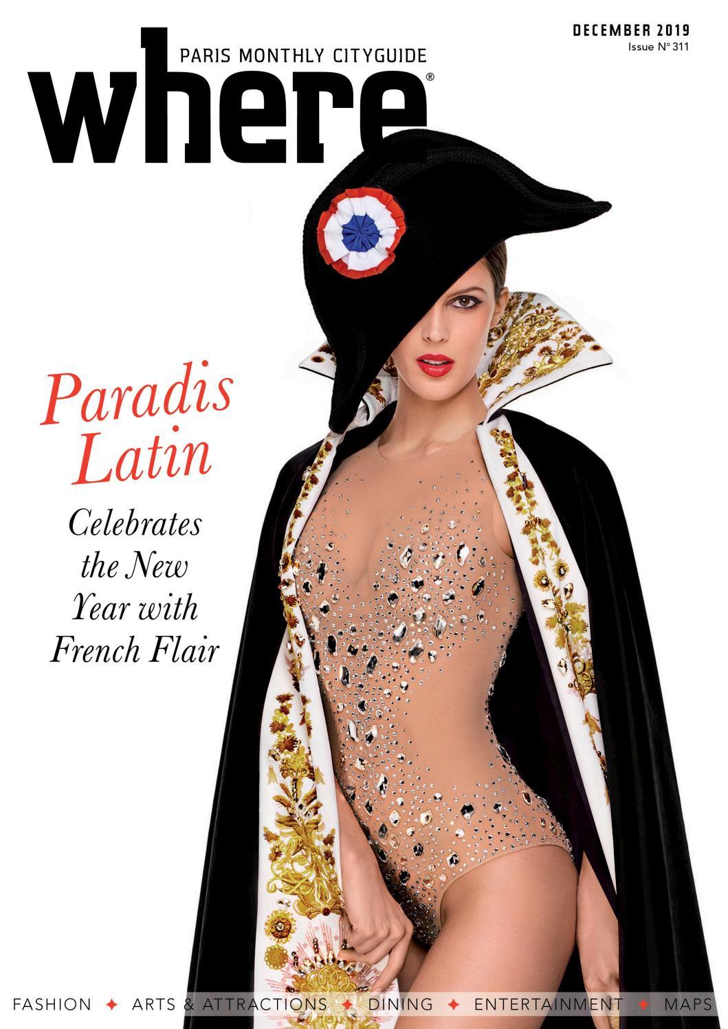 Where Paris magazine, December 2019 by Where Paris issuu