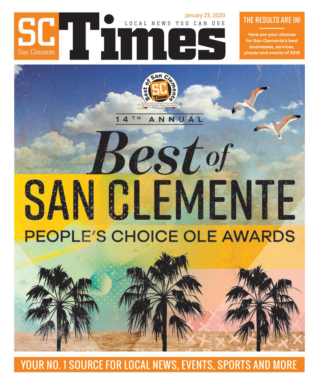 14th Annual Best of San Clemente People's Choice Ole Awards