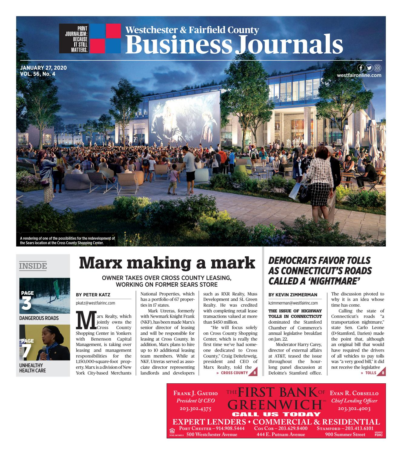 Westchester and Fairfield County Business Journal 012720 by Wag ...