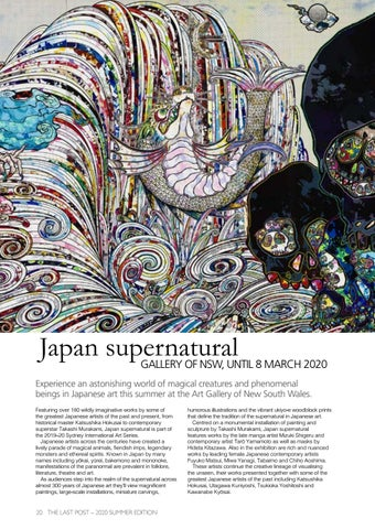 Page 22 of Japan supernatural: Gallery of NSW, Until 8 March 2020
