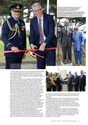 Page 37 of Rededication of AFC and RAAF Memorial – Point Cook