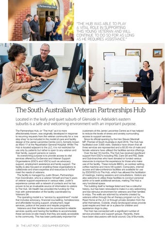 Page 40 of The South Australian Veteran Partnerships Hub