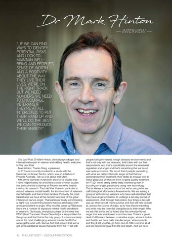 Page 44 of Interview: Dr. Mark Hinton