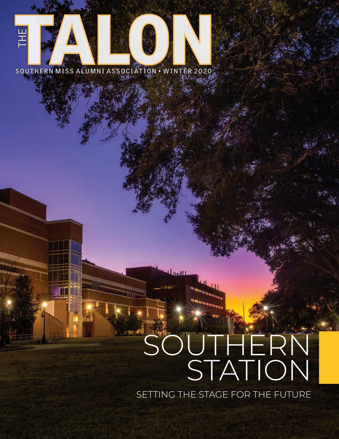 Usm Fall 2022 Calendar.The Talon Winter 2020 By Southern Miss Alumni Association Issuu