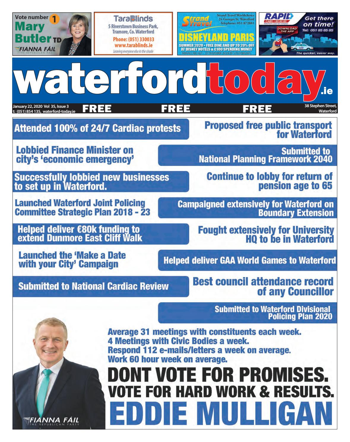 FILE NUMBER WATERFORD CITY AND COUNTY COUNCIL