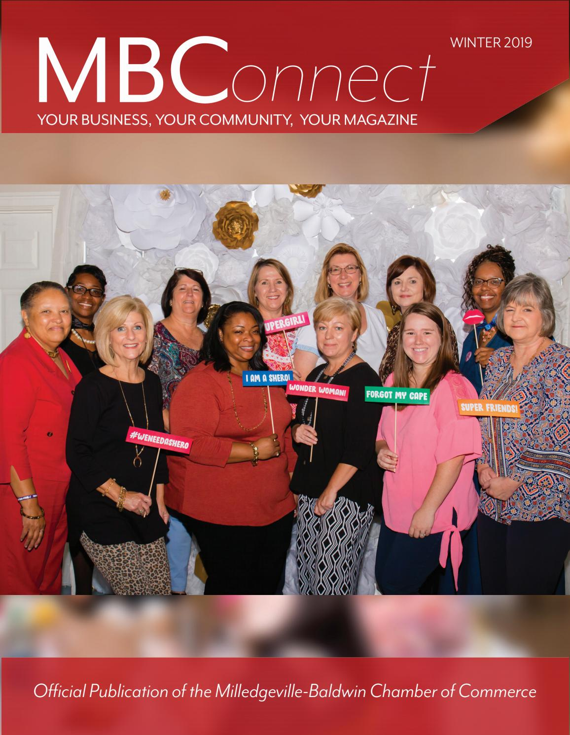 Mbconnect Winter 2019 By Milledgeville Baldwin County Chamber Of Commerce Issuu