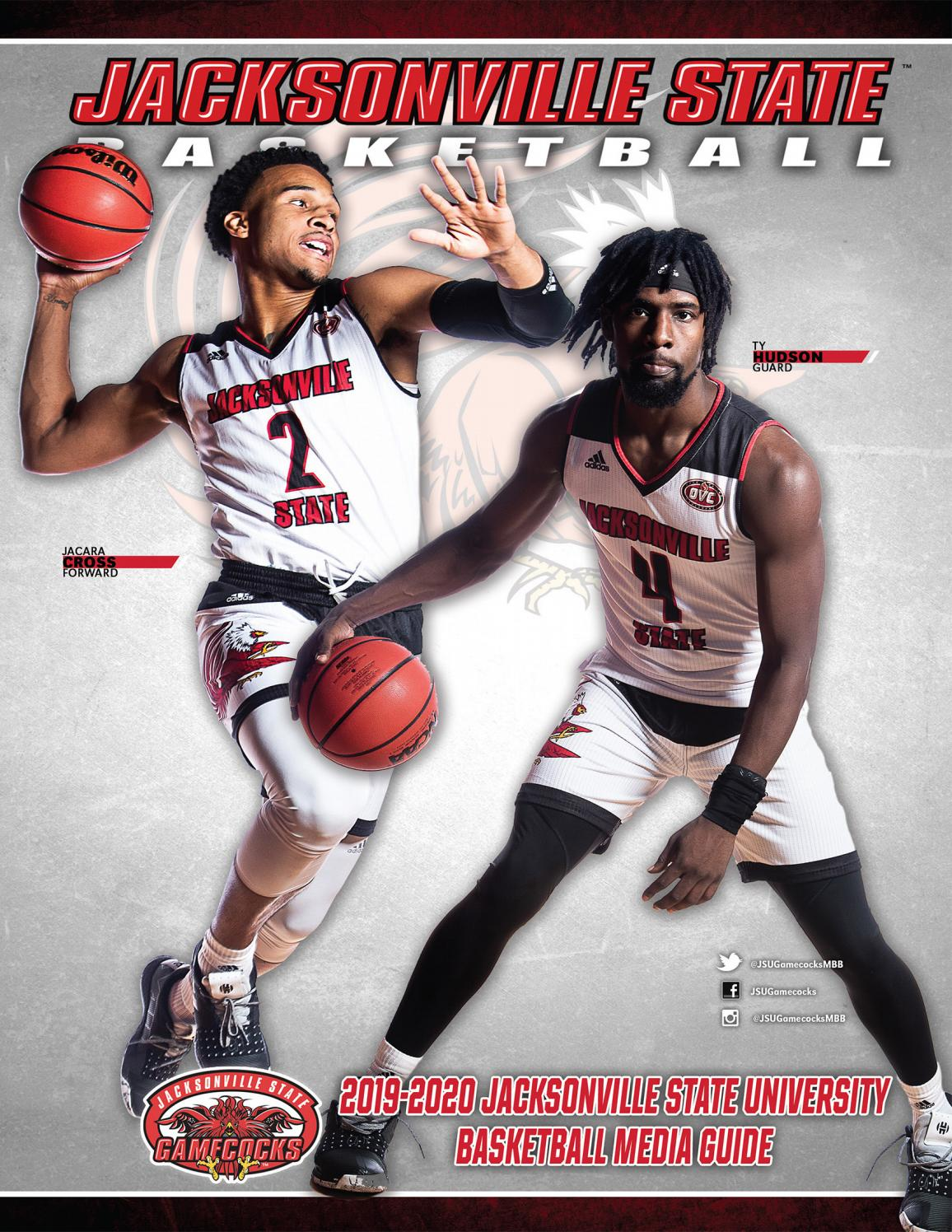 2019 20 Jacksonville State Men S Basketball Media Guide By Jacksonville State Athletics Issuu