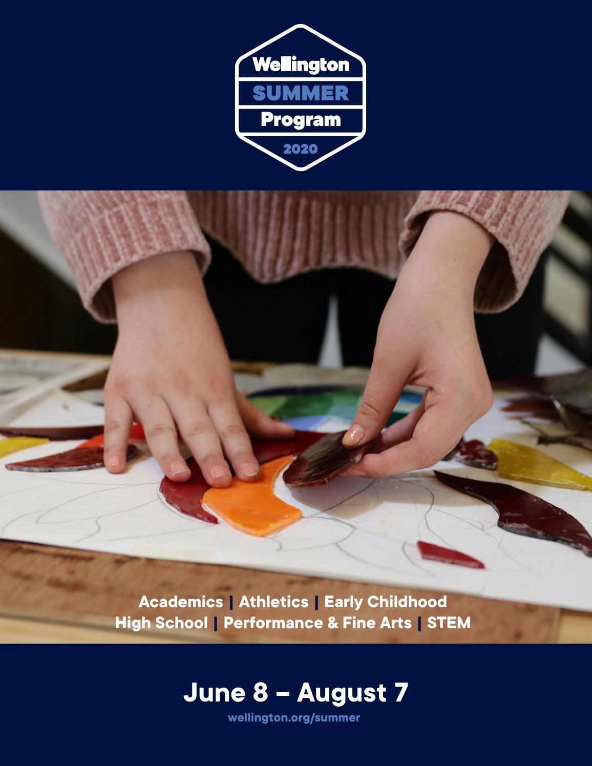 Summer Program Brochure 2020 By Wellington Issuu
