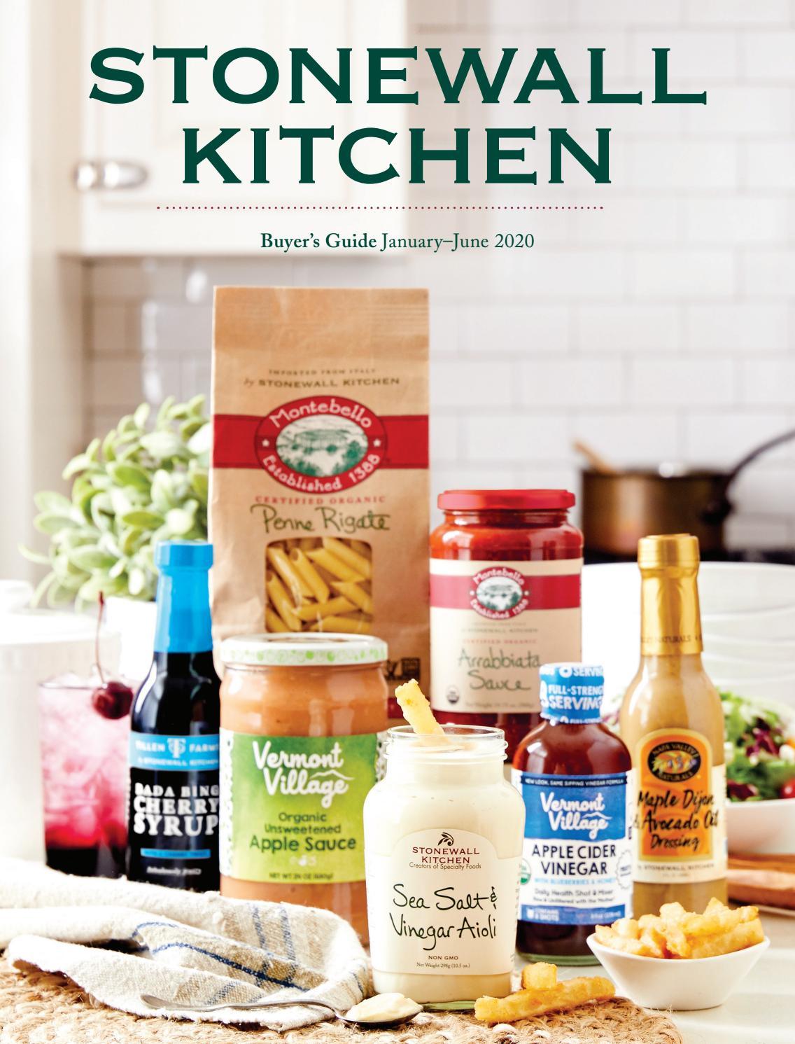 Stonewall Kitchen Buyers Guide January June 2020 By Stonewall Kitchen Issuu