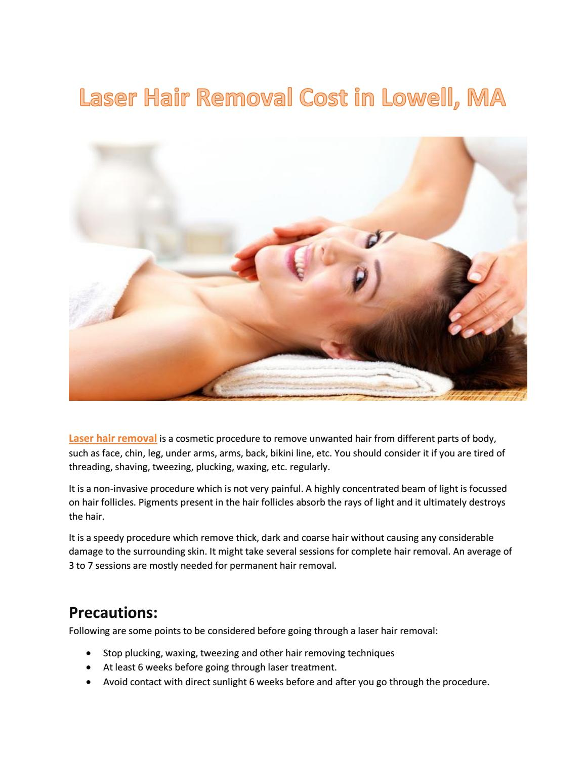 Laser Hair Removal Cost In Lowell Ma By Bostonveincare43 Issuu
