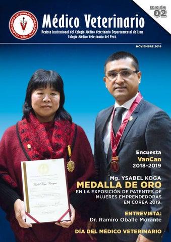 Revista Del Colegio De Veterinarios De Lima N 2 By Gala Ediciones Publicidad Y Eventos Issuu