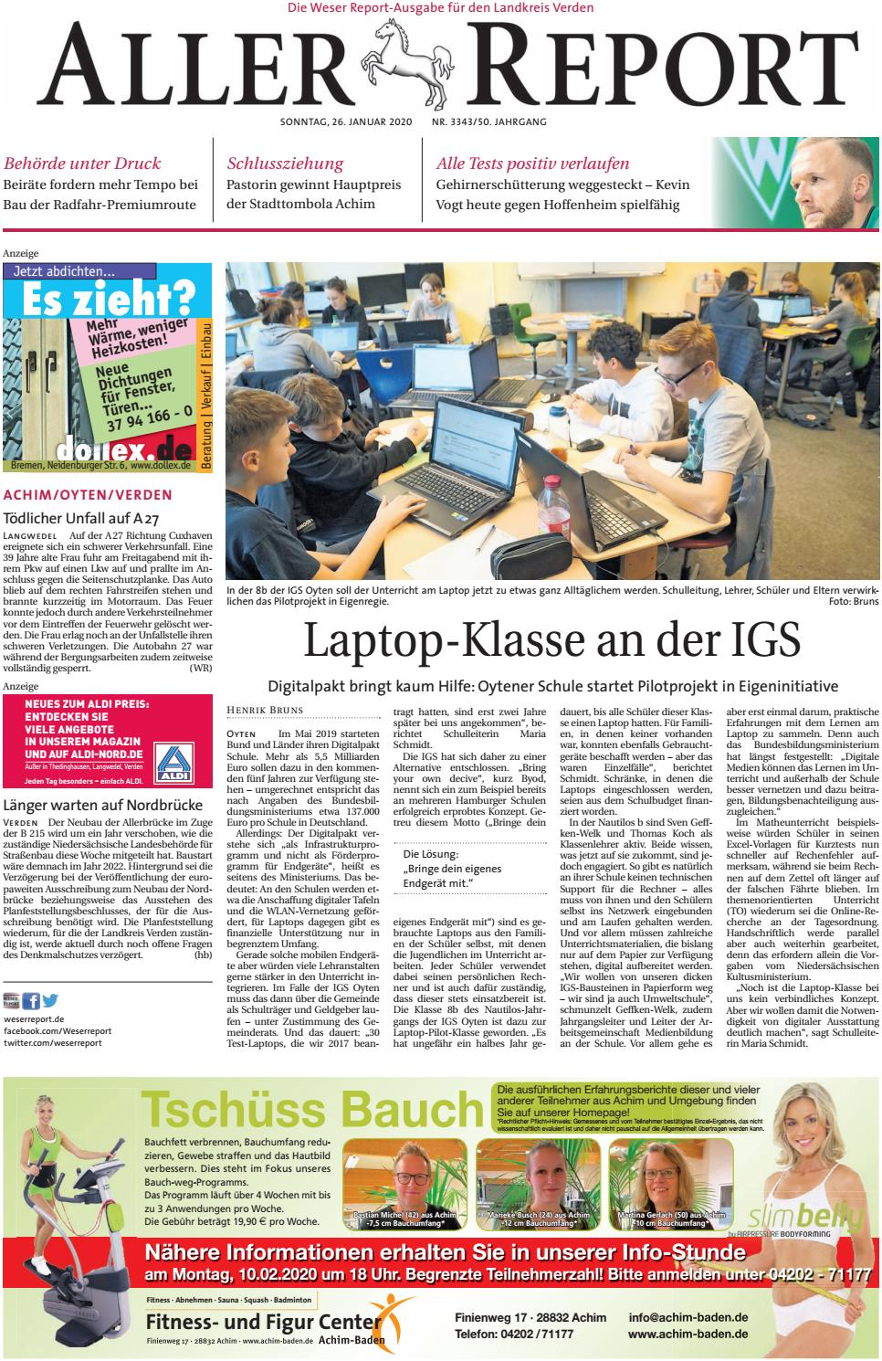 Aller Report vom 20.20.20 by KPS Verlagsgesellschaft mbH   issuu