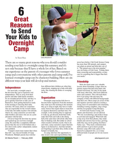 Page 22 of 6 Great Reasons to Send Your Kids to Overnight Camp